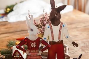 Sveiki, aš – Ema! Baltutė kaip sniegas triušytė. O šalia - mano draugas. Jo kailiukas – rudas kaip kaštonas arba šokoladas... Tad ir vardas - Šokoladukas!
